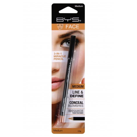BYS 3-in-1 Miracle Face Pencil