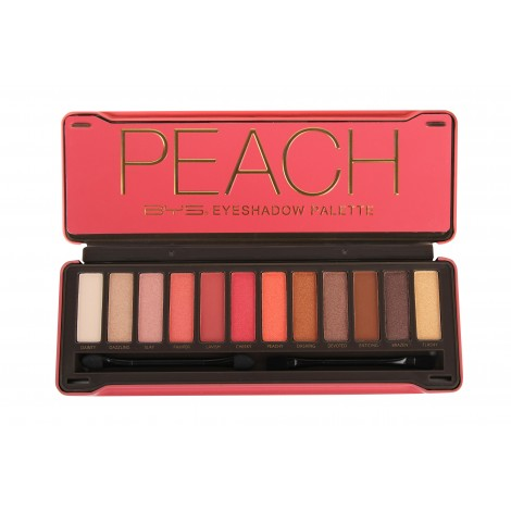 BYS Eyeshadow Palette Tin - Peach